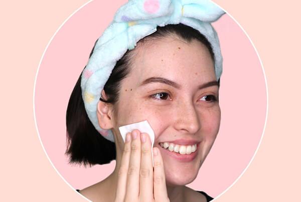 Tẩy trang làm sạch da mặt