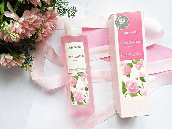Mamonde Rose Water cực kỳ an toàn để sử dụng lên vùng da mặt mà không cần lo lắng về dị ứng hoặc kích ứng