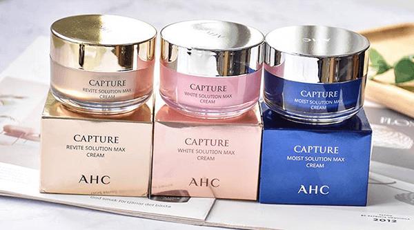 Kem dưỡng AHC capture Solution Max Cream