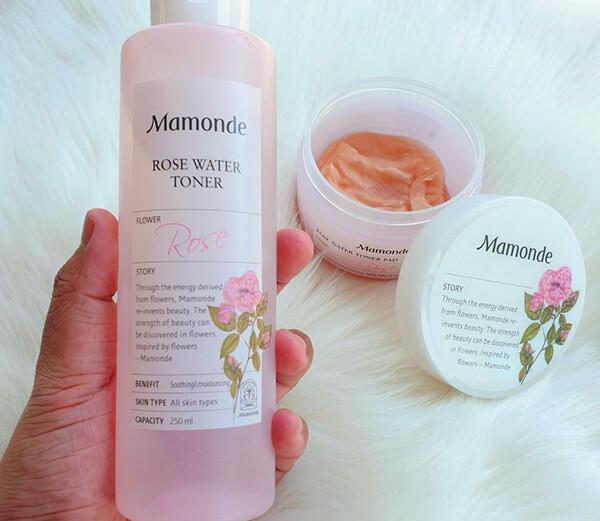 Sử dụng nước hoa hồng Mamonde thường xuyên sẽ mang lại hiệu quả cao cho quá trình skincare