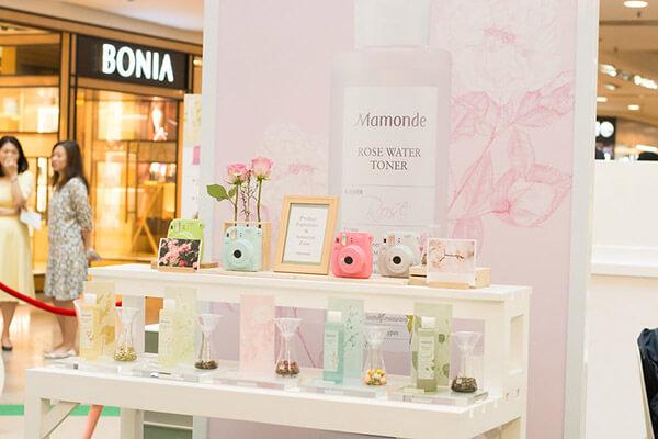 Thương hiệu Mamonde xuất hiện tại các cửa hàng mỹ phẩm