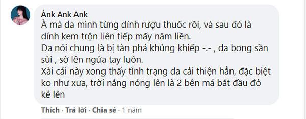 Bạn Ànk Ank Ank chia sẻ
