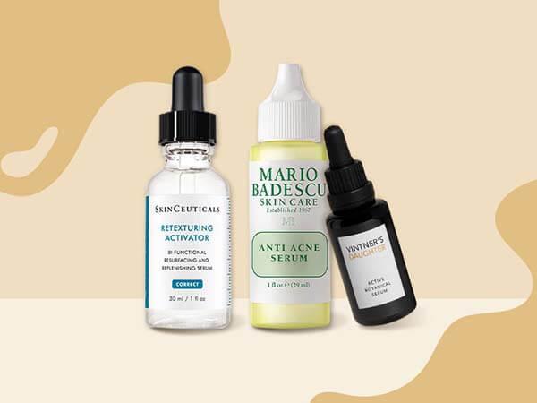 Serum trên thị trường được sản xuất và phân loại theo tình trạng da
