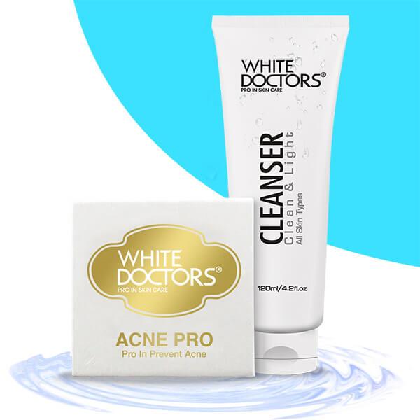 White Doctors Acne Pro - kem trị mụn da dầu nhờn hiệu quả nhất