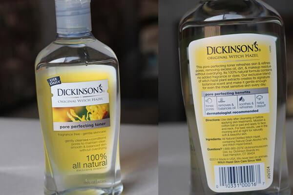 Cách sử dụng nước hoa hồng Dickinson