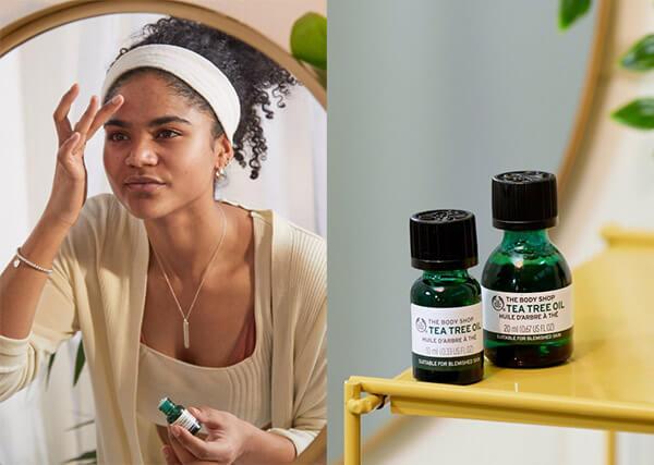 Cải thiện làn da, ngăn ngừa lão hóa với tinh dầu trà xanh Tea Tree