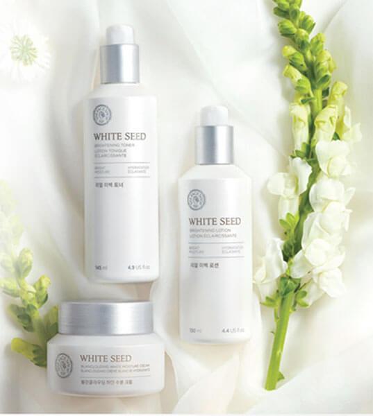 Dưỡng trắng da White Seed Brightening đến từ thương hiệu The Face Shop tại Hàn Quốc