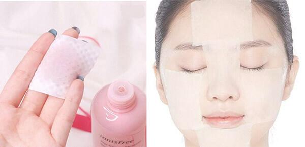 Sử dụng nước hoa hồng Innisfree trước bước serum và kem dưỡng
