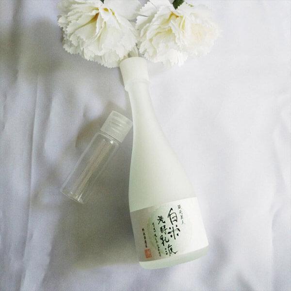 Cải thiện làn da trở nên khỏe mạnh với nước thần Sake Nhật Bản