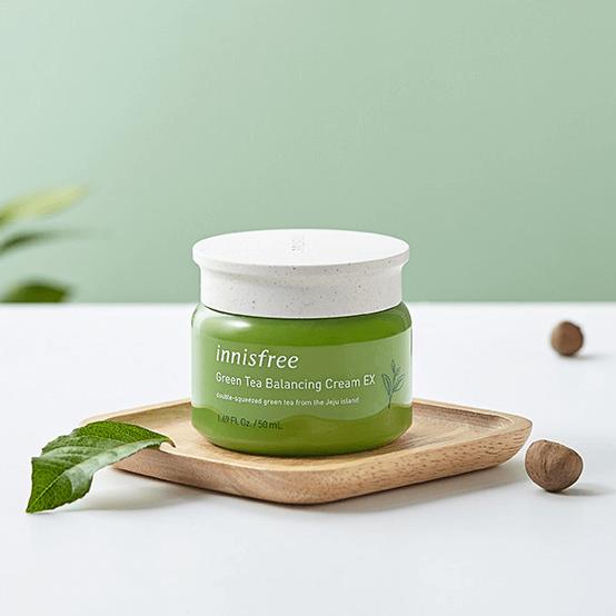 Kem Innisfree Green Tea Balancing Cream
