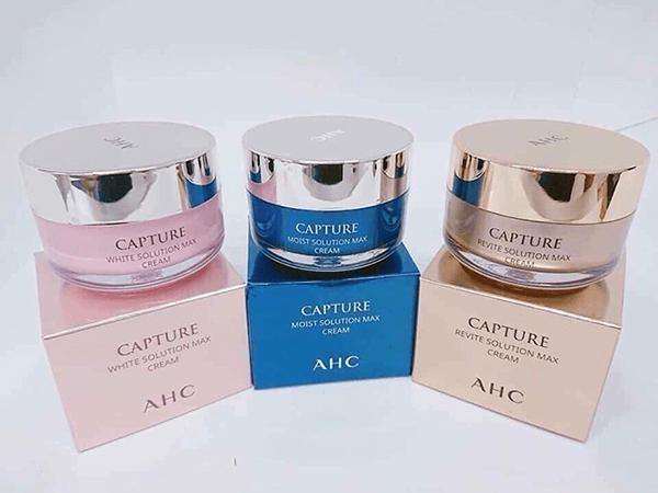Kem dưỡng AHC Capture Solution Max Cream - Hàn Quốc