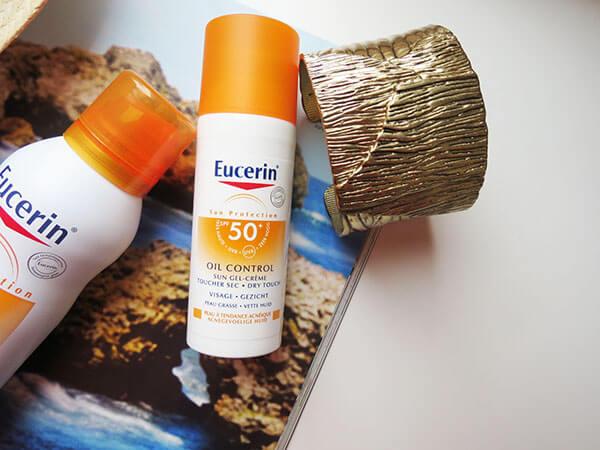 Top kem chống nắng cho da dầu: Eucerin Sun Gel