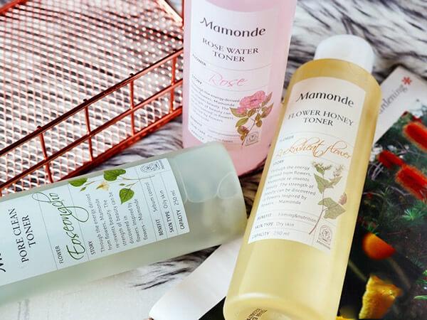 Công dụng của nước hoa hồng Mamonde