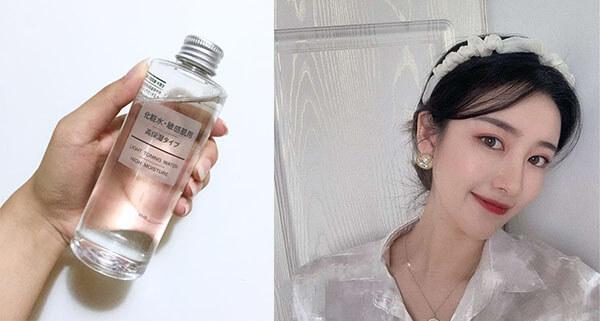 Sử dụng Lotion Muji thường xuyên để cảm nhận làn da tươi mát mỗi ngày