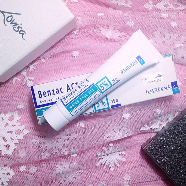 Benzoyl Peroxide là hoạt chất điều trị mụn hiệu quả