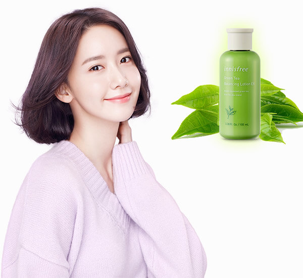 Green tea balancing lotion giúp bổ sung và cân bằng độ ẩm cho da mang lại làn da mịn màng