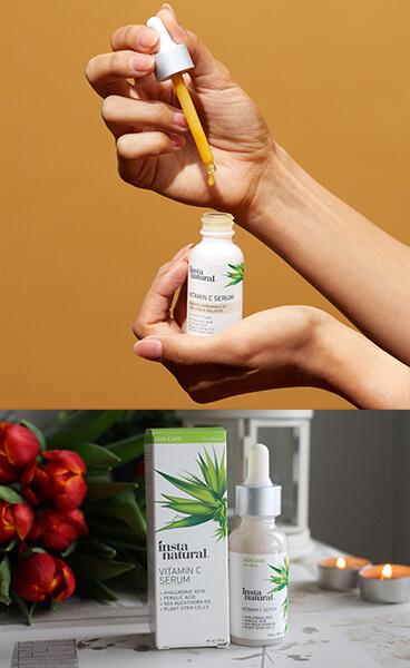 Top 10 serum dưỡng da nào tốt: InstaNatural Vitamin C Serum
