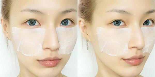 Sử dụng Hada Labo làm lotion mask