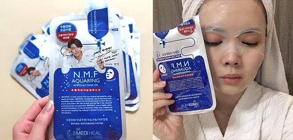 Mediheal NMF Aquaring Ampoule Mask mặt nạ được yêu thích tại Hàn