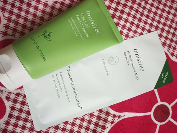 Sữa rửa mặt trà xanh Innisfree là một trong những sản phẩm mình ưng ý nhất