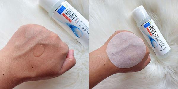 Kết cấu kem không gây kết dính hay nhờn rất tốt cho làn da nhạy cảm dễ bị mụn