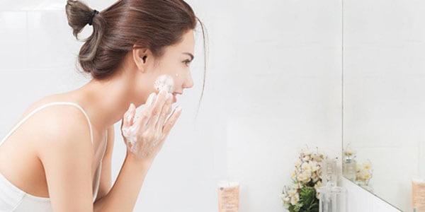 Làm sạch da giúp nâng cao hiệu quả dưỡng da