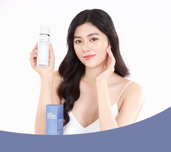 TOP Toner cho da nhạy cảm: Clear Skin Toner Shin Nee