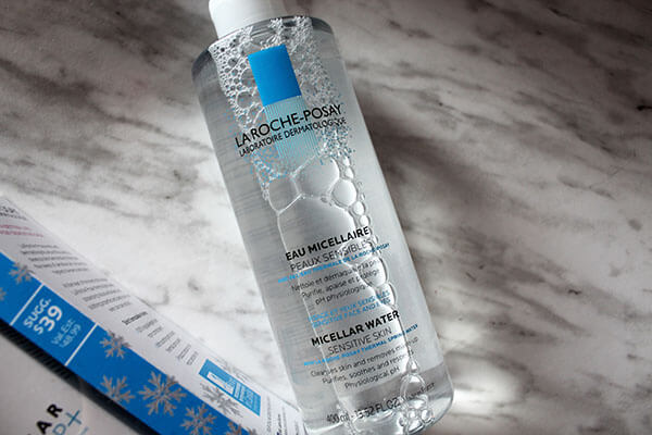 La Roche Posay Micellar Cleansing Water and Make up Over