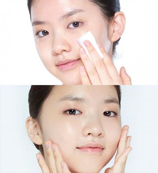 Toner vừa làm sạch sâu cho da vừa giúp làm nền cho các bước chăm sóc da tiếp theo