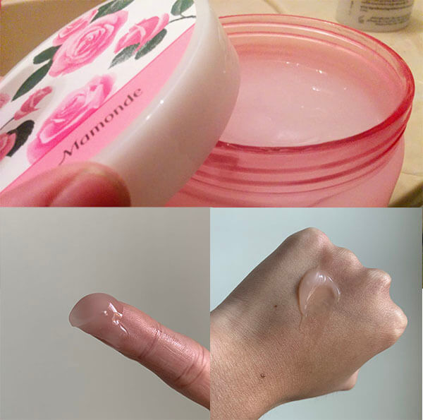 Kem dưỡng ẩm hoa hồng tạo cảm giác dễ chịu khi sử dụng