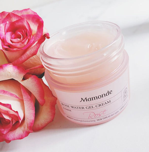 Gel Hoa Hồng Mamonde Rose Water Gel Cream tốt cho da nhạy cảm