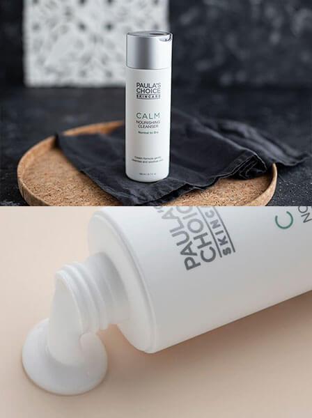 Top sữa rửa mặt cho da khô: Calm Nourishing Cleanser Normal to Dry