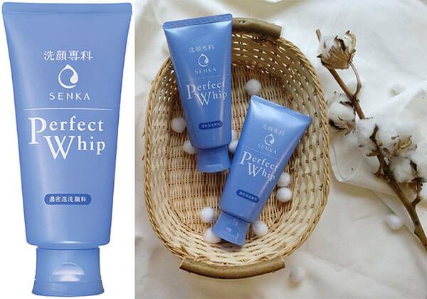 Senka dành vị trí cao trong top sữa rửa mặt cho da hỗn hợp có ưu điểm vượt trội