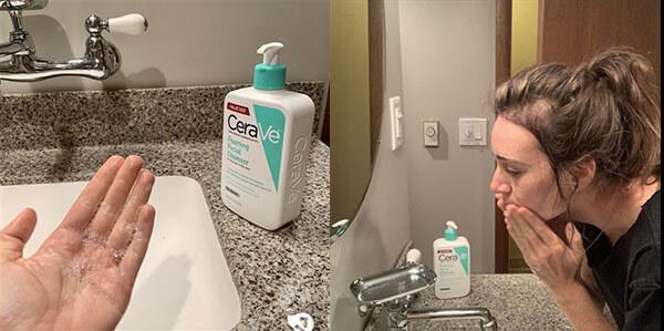 Khả năng làm sạch da tốt, kiềm dầu và bảo vệ màng ẩm trên da hiệu quả