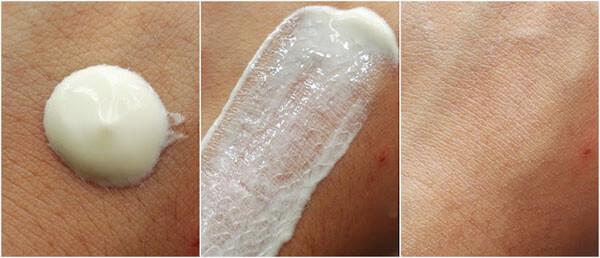 Kết cấu dạng nước mỏng nhẹ, không gây bết dính hay nhờn rít cho da