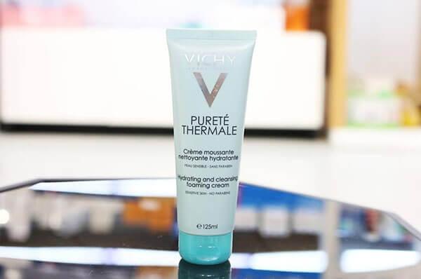 Vichy Purete Thermale Foaming Cream là sản phẩm làm sạch da hiệu quả